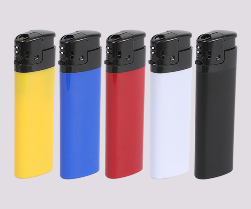 home plastic+metal Electronic lighter OQ-833